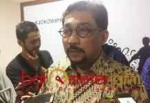 Machfud Arifin, ajak relawan Paslon 01 untuk menjaga nama Jokowi. | Foto: Barometerjatim.com/natha lintang