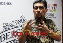 Machfud Arifin, jangan dikait-kaitkan OTT Romi dengan Posko TKD Jatim. | Foto: Barometerjatim.com/roy hs