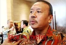 Ketua Forkas Jatim, Nur Cahyudi, investor masih tunggu hasil Pilpres. | Foto: Barometerjatim.com/abdillah hr