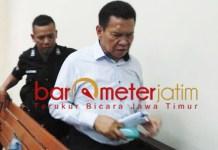 Nurul Dholam, divonis enam tahun penjara dalam perkara korupsi Jaspel. | Foto: Barometerjatim.com/abdillah hr