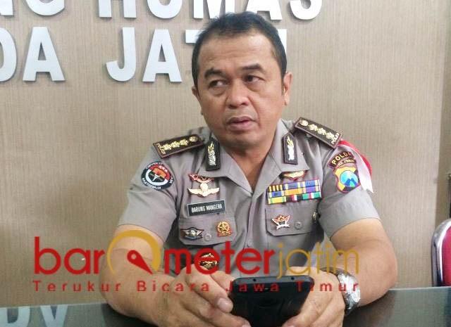 Frans Barung Mangera, penyidik PPA Polda Jatim kantongi bukti video syur tersangka selingkuh. | Foto: Ist