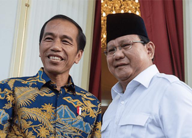 Prabowo Subianto bakal kalahkan Joko Wdodo di Pilpres 2019 versi hasil survei INES: | Foto: Ist