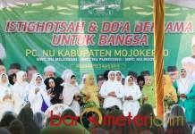Khofifah di acara PCNU Kabupaten Mojokerto, Rabu (3/4/2019). | Foto: Barometerjatim.com/natha lintang
