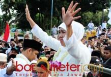 Khofifah, hari ini genap 99 hari kerja sebagai gubernur Jatim. | Foto: Barometerjatim.com/roy hs