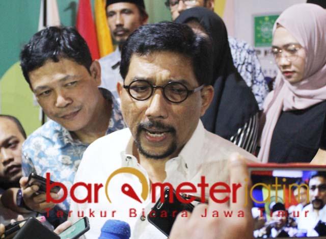 Machfud Arifin, Jatim sumbang 51 persen kemenangan Jokowi-Ma'ruf. | Foto: Barometerjatim.com/roy hs