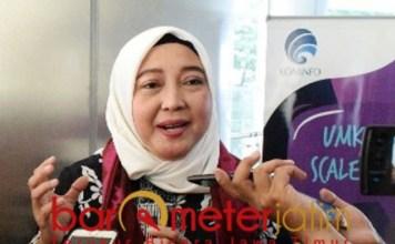 Septriana Tangkary, transaksi e-Commerce bisa capai 130 M dolar AS di 2020. | Foto: Barometerjatim.com/natha lintang