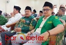 TUNTUT MINTA MAAF: Ja'far Sodik, pernyataan ketua Ansor Surabaya melukai 26 pimpinan cabang Ansor. | Foto: Barometerjatim.com/ROY HS