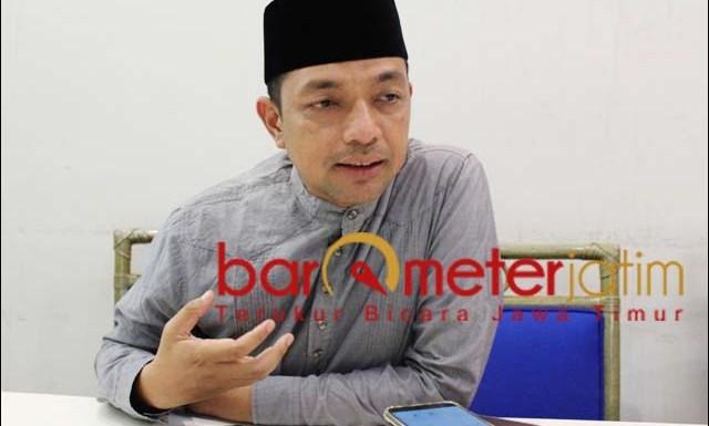 WARNA LAIN: Gus Hans, Surabaya butuh warna lain pasca kepemimpinan Tri Rismaharini. | Foto: Barometerjatim.com/ROY HS