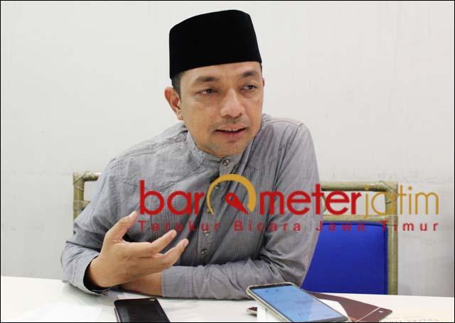WARNA LAIN: Gus Hans, Surabaya butuh warna lain pasca kepemimpinan Tri Rismaharini.   Foto: Barometerjatim.com/ROY HS