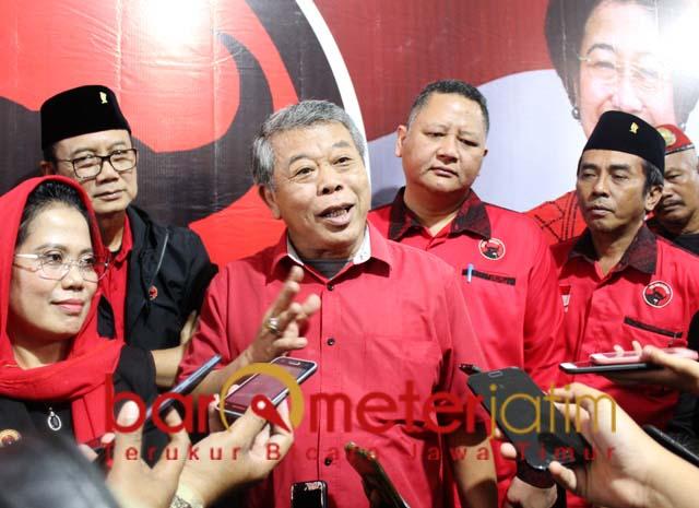 TANPA MAHAR: Kusnadi, bakal calon kepala daerah lewat PDIP tak dibebani biaya survei. | Foto: Barometerjatim.com/ROY HS