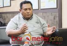 INCAR KURSI WABUP: Hidar Assegaf, siap maju bakal calon wakil bupati Sidoarjo. | Foto: Barometerjatim.com/ROY HS
