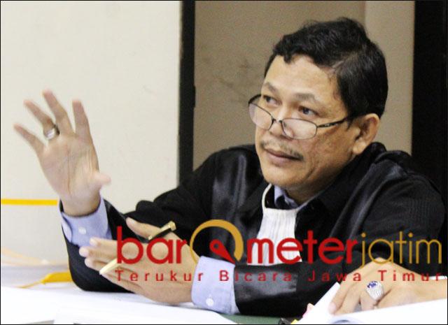 PKB MENANG: Otman Ralibi, minta Cak Anam legowo soal sengketa Astranawa yang dimenangkan PKB. | Foto: Barometerjatim.com/ROY HS