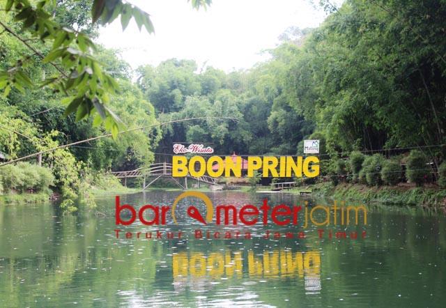 DESA WISATA: Boonpring, ekowisata sukses yang dikembangkan Desa Sanankerto, Malang. | Foto: Barometerjatim.com/ROY HS