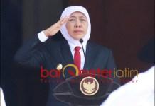 ESELON III-IV DIHAPUS: Khofifah minta ASN Pemprov Jatim tak galau. | Foto: Barometerjatim.com/ABDILLAH HR