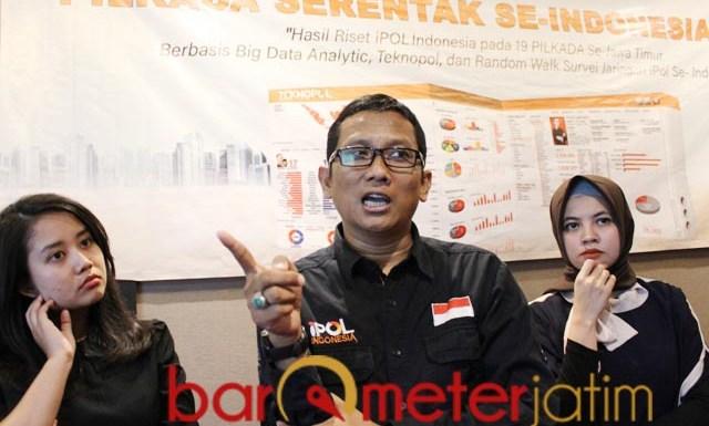 PILKADA 2020: Petrus Haryanto, calon kepala daerah jangan bikin konten kaleng-kaleng | Foto: Barometerjatim.com/ROY HS