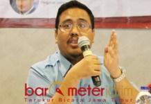 MASIH CAIR: Anwar Sadad, Gerindra siap koalasi dengan Parpol apapaun di Pilwali Surabaya. | Foto: Barometerjatim.com/ROY HS