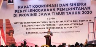 UANG KETOK PALU: Firli Bahuri, jangan sampai ada uang ketok palu di Jawa Timur. | Foto: Barometerjatim.com/ROY HS