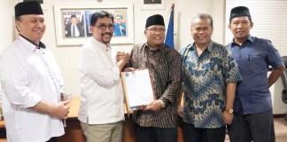 REKOMENDASI PAN: Machfud Arifin terima rekomendasi PAN untuk maju di Pilwali Surabaya 2020. | Foto: IST