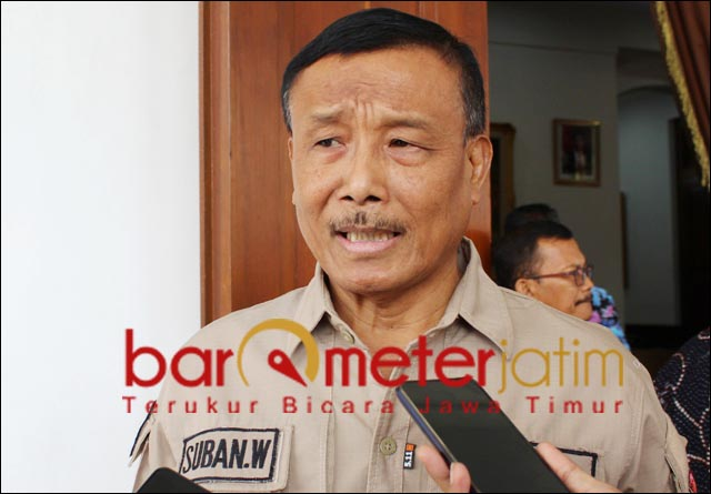 13 POTENSI BENCANA: Suban Wahyudiono, ada 13 potensi bencana di Jarim. | Foto: Barometerjatim.com/ABDILLAH HR