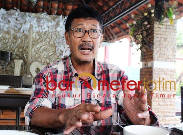 BERSAMA RAKYAT: Suhandoyo, siap bergerak bersama rakyat di Pilbup Lamongan. | Foto: Barometerjatim.com/ABDILLAH HR