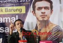 SOSOK MILENIAL: Gamal Albinsaid, dinilai Sandiaga Uno cocok penerus Risma. | Foto: Barometerjatim.com/ROY HS