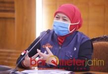 OPSI BUANG BORING: Khofifah, bosan work from home bisa ganti work from hotel. | Foto: Barometerjatim.com/ROY HS