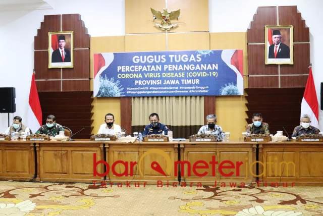 TAMBAH LAGI: Kasus Corona masih tinggi, Surabaya Raya perpanjang PSBB hingga 8 Juni. | Foto: Barometerjatim.com/ROY HS