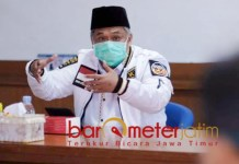 PERKETAT: Irwan Setiawan, masa transisi menuju new normal harus lebih diperketat.   Foto: Barometerjatim.com/ROY HS
