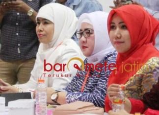 PILWALI SURABAYA: Lia Istifhama, kandidat calon wakil wali kota Surabaya yang masih beredar. | Foto: Barometerjatim.com/ROY HS