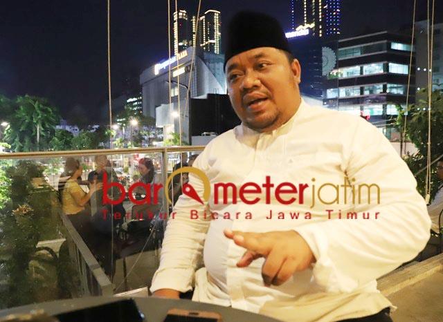 DUKUNGAN MORAL: Yusub Hidayat, dukungan moral dari Khofifah penting bagi Ning Lia di Pilwali Surabaya.   Foto: Barometerjatim.com/ROY HS