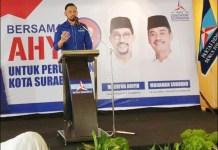 SIAP JEMPUT TAKDIR: Agus Harimurti Yudhoyono, Demokrat ngebet punya wali kota Surabaya. | Foto: Barometerjatim.com/ABDILLAH
