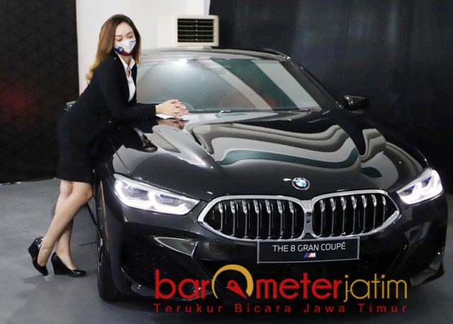 MANJAKAN PELANGGAN: Astra BMW manjakan pelanggan BMW dengan berbagai hadiah. | Foto: Barometerjatim.com/ROY HS