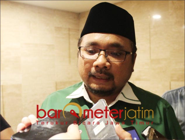 REPRESENTASI PKB: Gus Yaqut, Menteri Agama representasi PKB di Kabinet Jokowi-Ma'ruf. | Foto: Barometerjatim.com/ROY HS