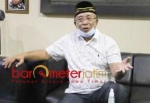 TAMBAKBERAS: Haji Masnuh, bangga alumnus Ponpes Tambakberas jadi ketua umum MUI. | Foto: Barometerjatim.com/IST