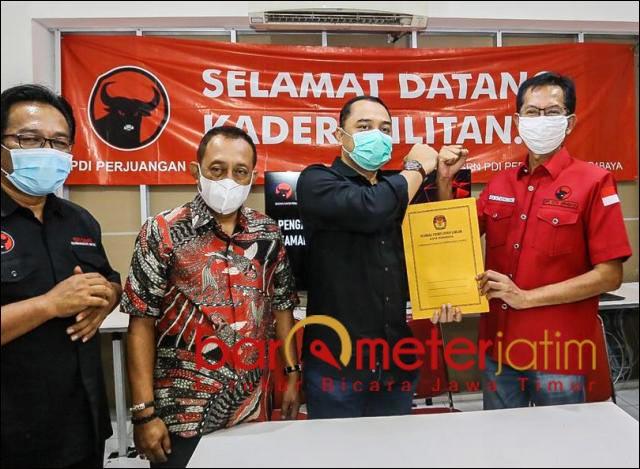 PILWALI SURABAYA: PDIP Surabaya siap hadapi gugatan Machfud Arifin-Mujiaman di MK. | Foto: Barometerjatim.com/ROY HS