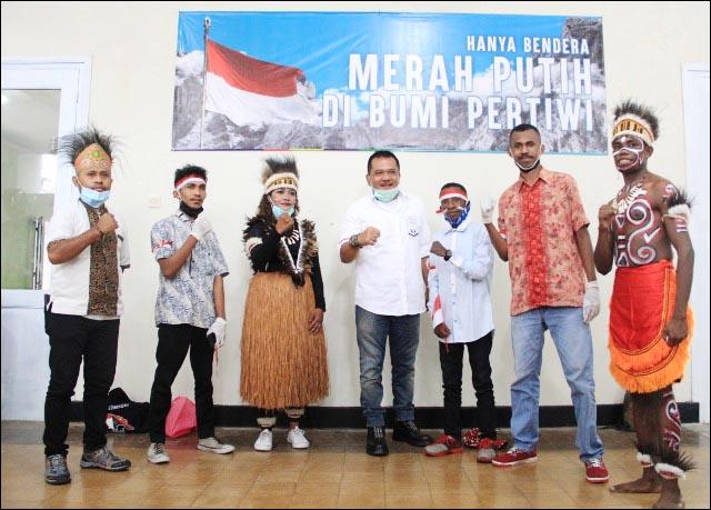 ANAK NEGERI: Mahasiswa turut aksi sinergi anak negeri se-Malang Raya, Senin (30/11/2020). | Foto: Barometerjatim.com/IST