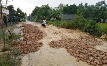 TERKENDALA ANGGARAN: Jalan rusak di Bangkalan, beberapa diusulkan jadi ruas jalan provinsi. | Foto: Pemkab Bangkalan