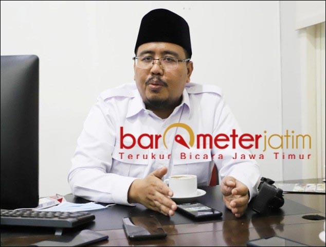 FITRAH PESANTREN: Anwar Sadad, fitra pesantren mencetak santri yang menguasai ilmu agama. | Foto: Barometerjatim.com/ROY HS