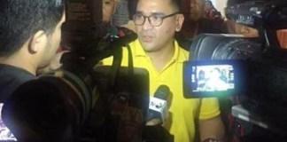 JUNJUNG SOLIDARITAS: Donny Arlansyah Isman, kedepankan asas praduga tak bersalah soal Aziz Syamsuddin.   Foto: IST