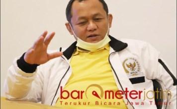 SPORT DAN TOURISM : Sarmuji, Esports Piala Menpora 2021 gabungkan sport dan tourism. | Foto: Barometerjatim.com/ROY HS