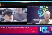 HARI PENDIDIKAN NASIONAL: KPI gelar iFES 2021 sekaligus launching platform pelatihan online Kuanta.ID. | Foto: IST