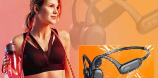 TEKNOLOGI BONE CONDUCTION: JETE Open Ear 2, headset bluetooth untuk olahraga terbaru dari JETE Indonesia. | Foto: IST