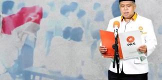 LOMBA TEKS PROKLAMASI: Irwan Setiawan, PKS ingatkan sejarah dengan gelar lomba baca teks proklamasi.   Foto: Barometerjatim.com/IST