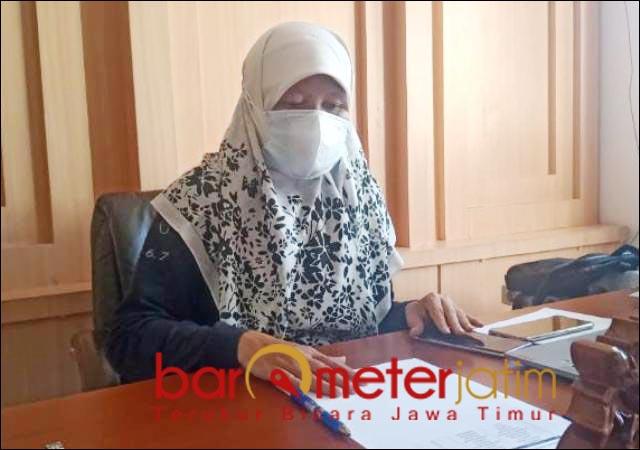 TIADAKAN KUNKER: Reni Astuti, anggota DPRD Surabaya tiadakan kunker selama PPKM Darurat.   Foto: Barometerjatim.com/ANDRIAN