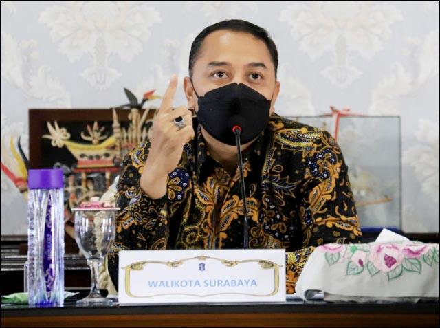 BERBASIS KINERJA: Eri Cahyadi, kepala PD di Pemkot Surabaya bisa turun pangkat karena gagal capai terget.| Foto: Barometerjatim.com/IST