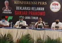 DEKLARASI GANJAR CAPRES 2024: Jokowi Mania deklarasi dukung Ganjar Pranowo maju Capres di 2024.   Foto: IST