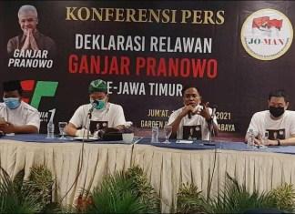 DEKLARASI GANJAR CAPRES 2024: Jokowi Mania deklarasi dukung Ganjar Pranowo maju Capres di 2024. | Foto: IST
