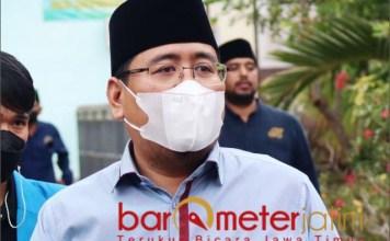 RAPERDA PESANTREN: Anwar Sadad, Raperda Pesantren melahirkan optimisme sekaligus pesimisme. | Foto: Barometerjatim.com/ROY HS