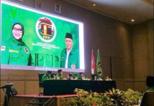 RAPIMWIL PPP JATIM: Rapat pimpinan wilayah I DPW PPP Jatim di Hotel Vasa Surabaya, Rabu (13/10/2021). | Foto: Barometerjatim.com/IST