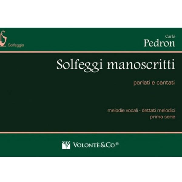 Pedron – Solfeggi manoscritti prima serie